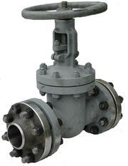 Клапаны (вентили) запорные фланцевые стальные